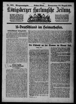 Königsberger Hartungsche Zeitung vom 24.08.1916