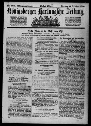 Königsberger Hartungsche Zeitung on Oct 6, 1916