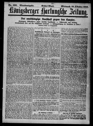 Königsberger Hartungsche Zeitung vom 18.10.1916