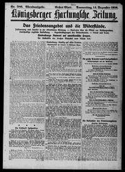 Königsberger Hartungsche Zeitung (14.12.1916)