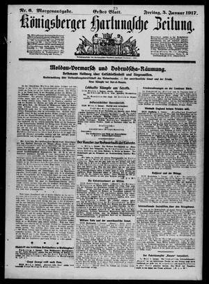 Königsberger Hartungsche Zeitung vom 05.01.1917