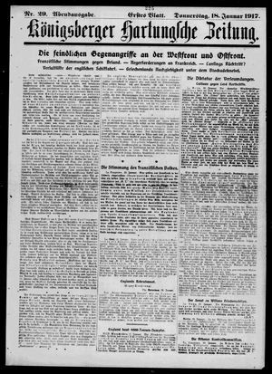 Königsberger Hartungsche Zeitung vom 18.01.1917