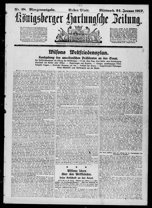 Königsberger Hartungsche Zeitung vom 24.01.1917