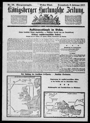 Königsberger Hartungsche Zeitung vom 03.02.1917