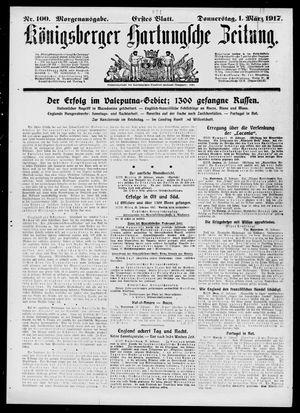 Königsberger Hartungsche Zeitung vom 01.03.1917