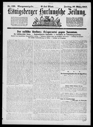 Königsberger Hartungsche Zeitung vom 16.03.1917