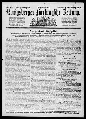 Königsberger Hartungsche Zeitung on Mar 20, 1917