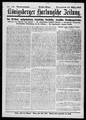 Königsberger Hartungsche Zeitung vom 24.03.1917