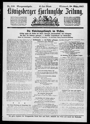 Königsberger Hartungsche Zeitung vom 28.03.1917