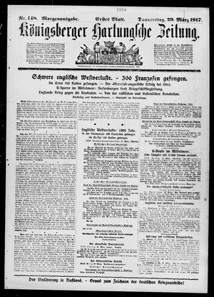 Königsberger Hartungsche Zeitung vom 29.03.1917