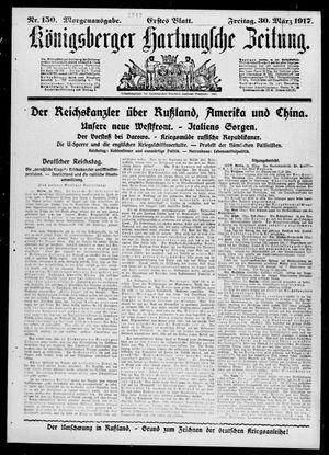 Königsberger Hartungsche Zeitung vom 30.03.1917