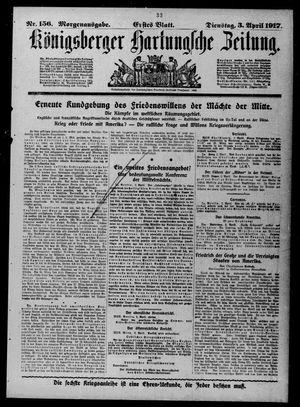 Königsberger Hartungsche Zeitung vom 03.04.1917