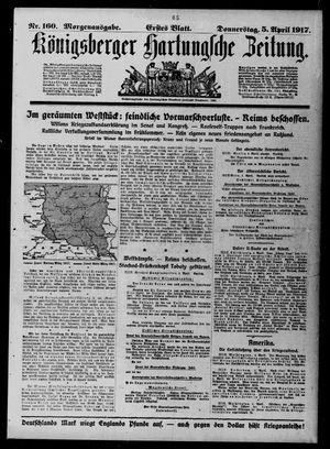 Königsberger Hartungsche Zeitung on Apr 5, 1917