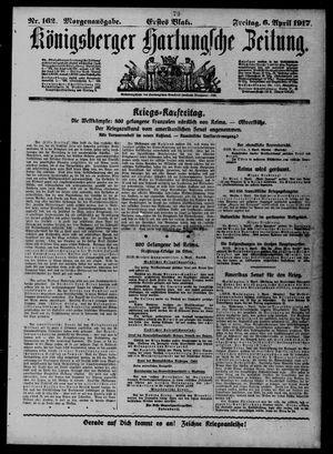 Königsberger Hartungsche Zeitung vom 06.04.1917