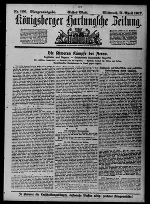 Königsberger Hartungsche Zeitung vom 11.04.1917