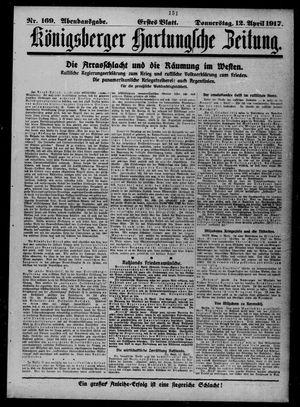 Königsberger Hartungsche Zeitung vom 12.04.1917