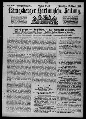 Königsberger Hartungsche Zeitung vom 17.04.1917
