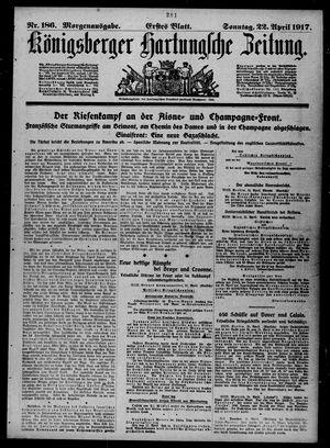 Königsberger Hartungsche Zeitung vom 22.04.1917