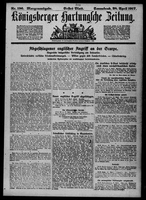 Königsberger Hartungsche Zeitung vom 28.04.1917