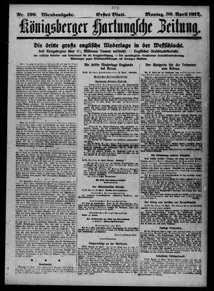 Königsberger Hartungsche Zeitung vom 30.04.1917