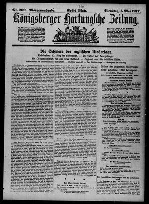 Königsberger Hartungsche Zeitung vom 01.05.1917