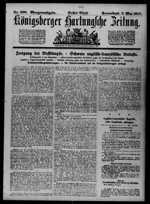 Königsberger Hartungsche Zeitung on May 5, 1917
