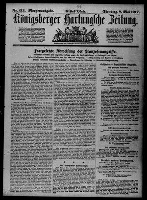 Königsberger Hartungsche Zeitung vom 08.05.1917
