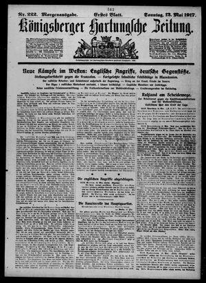Königsberger Hartungsche Zeitung vom 13.05.1917
