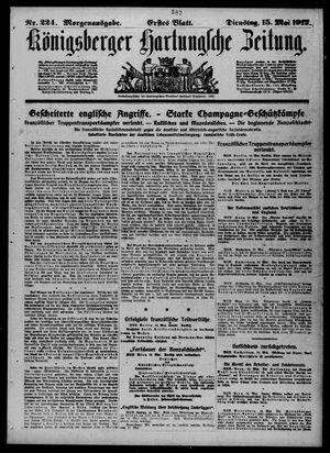 Königsberger Hartungsche Zeitung vom 15.05.1917