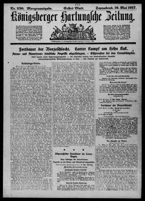 Königsberger Hartungsche Zeitung vom 19.05.1917