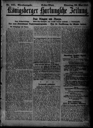 Königsberger Hartungsche Zeitung vom 22.05.1917