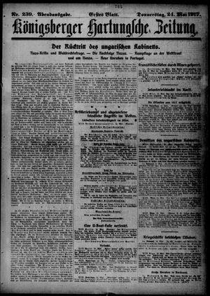 Königsberger Hartungsche Zeitung vom 24.05.1917