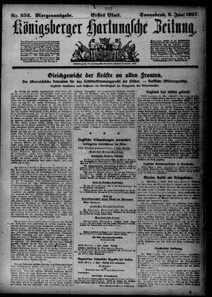 Königsberger Hartungsche Zeitung vom 02.06.1917