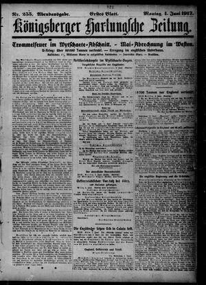 Königsberger Hartungsche Zeitung vom 04.06.1917