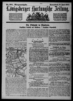 Königsberger Hartungsche Zeitung on Jun 9, 1917