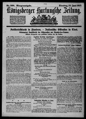 Königsberger Hartungsche Zeitung vom 12.06.1917