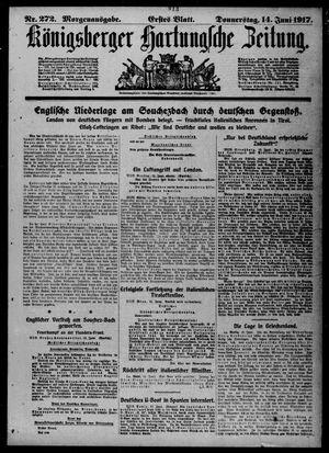 Königsberger Hartungsche Zeitung vom 14.06.1917
