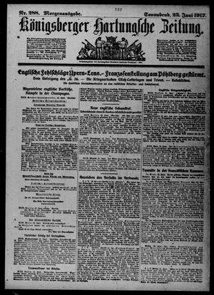 Königsberger Hartungsche Zeitung vom 23.06.1917