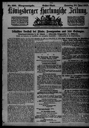 Königsberger Hartungsche Zeitung vom 24.06.1917