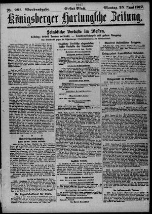 Königsberger Hartungsche Zeitung vom 25.06.1917