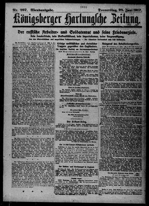 Königsberger Hartungsche Zeitung vom 28.06.1917