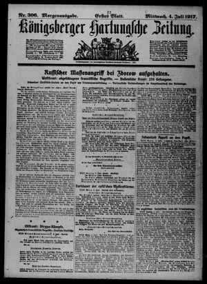 Königsberger Hartungsche Zeitung vom 04.07.1917