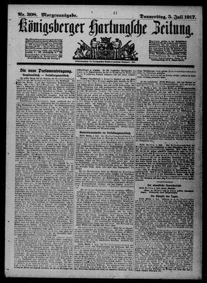 Königsberger Hartungsche Zeitung vom 05.07.1917