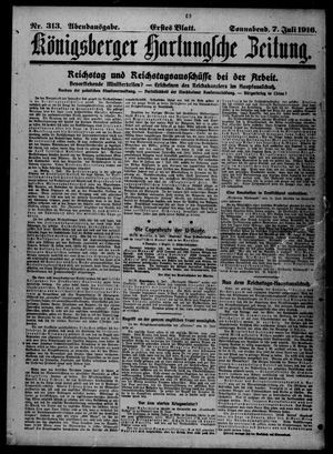Königsberger Hartungsche Zeitung vom 07.07.1917