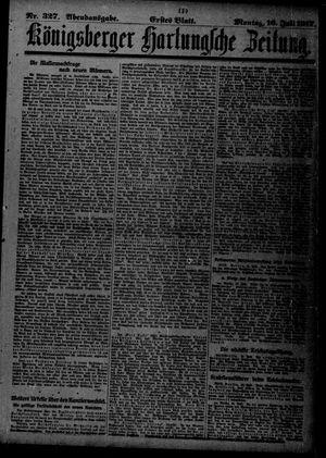 Königsberger Hartungsche Zeitung vom 16.07.1917