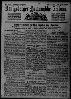 Königsberger Hartungsche Zeitung vom 19.07.1917