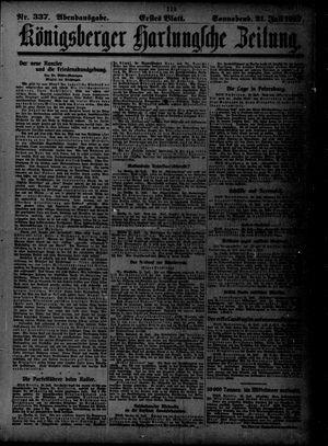 Königsberger Hartungsche Zeitung vom 21.07.1917