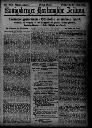 Königsberger Hartungsche Zeitung vom 25.07.1917