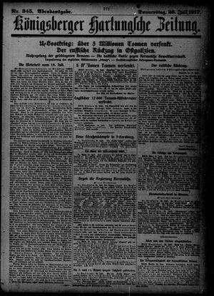Königsberger Hartungsche Zeitung vom 26.07.1917