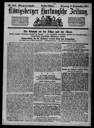 Königsberger Hartungsche Zeitung vom 02.09.1917
